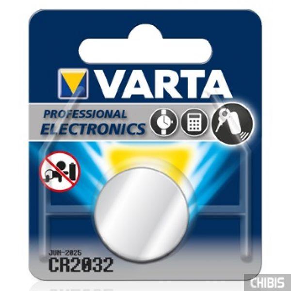 Батарейка Varta CR2032 Professional Electronics (230mAh, 3V, Литиевая) 06032101401