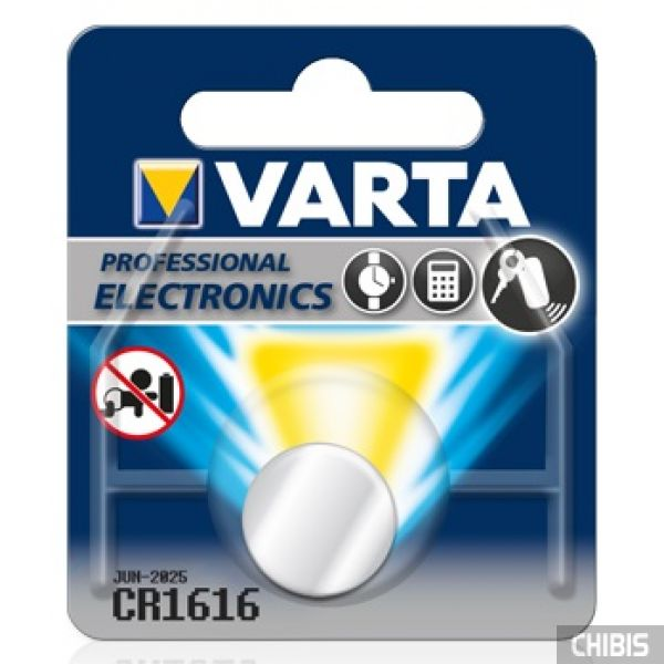 Батарейка Varta CR1616 блистер 1 шт