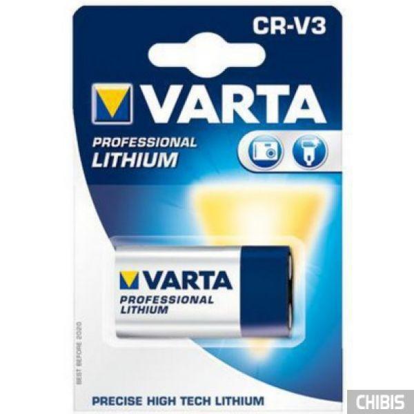 Батарейка Varta CR-V3 Professional (CR17355, 3300mAh, 3V, Литиевая) 06207301401