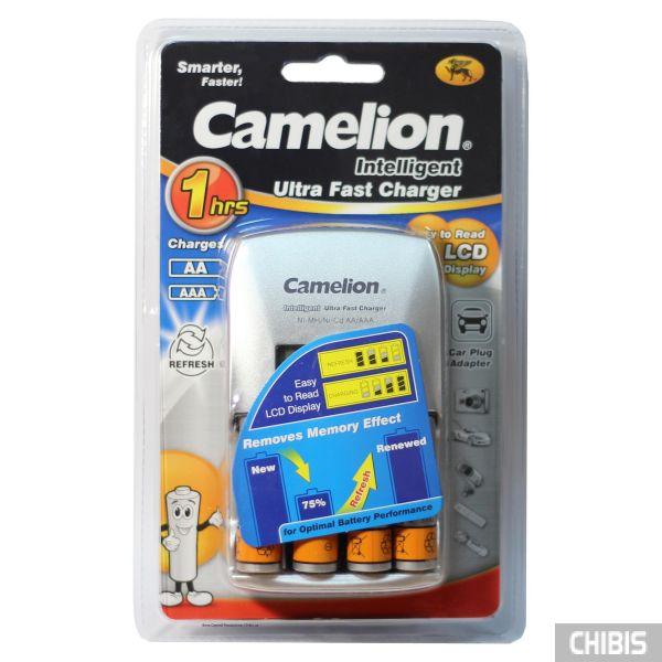 Зарядное устройство АА ААА Camelion BC-0907 + 4 AA 2700 mAh