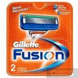 Gillette Fusion лезвия для станка 2 шт 7702018877478