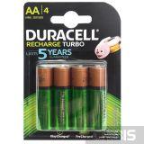 Аккумуляторы AA Duracell 2500 mAh Turbo HR6 Ni-Mh 1.2V 5000394057203 4 шт.