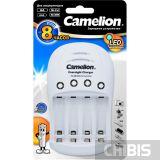 Зарядное устройство АА ААА Camelion BC-1008 NiMH/NiCd на 2 или 4 аккумуляторные батарейки