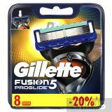Gillette Fusion ProGlide лезвия для станка 8 шт 7702018085545