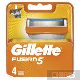 Сменные кассеты Gillette Fusion для станка 4 шт.