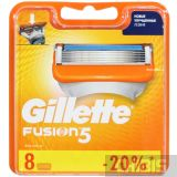 Кассеты для бритья Gillette Fusion 8 шт.