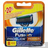 Gillette Fusion ProGlide Power лезвия для станка 8 шт 7702018085606