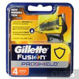 Картриджи для бритвы Gillette Fusion ProShield 4 шт 7702018412488