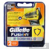 Картриджи для бритвы Gillette Fusion ProShield 2 шт 7702018412303