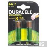 Аккумуляторные батарейки АА Duracell 1300 mAh R6