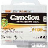 Аккумуляторы ААА Camelion 1100 mAh Ni-Mh внешний вид коробки