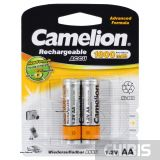 Аккумулятор Camelion AA 1800 mAh Ni-MH 1/2 блистер