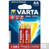 Батарейка АА Varta Max Tech блистер 2/2 шт.