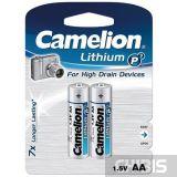 Батарейка AA Camelion Lithium 2 шт.