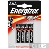 Батарейка ААА Energizer Alkaline Power 4 шт.