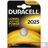 Батарейка Duracell 2025 3V Литиевая 1 шт.