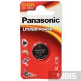 Батарейка Panasonic CR-2025EL/1B Professional (3V, Литиевая) 1/1 шт.