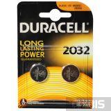 Батарейка 2032 Duracell DL2032 3V Lithium 2 шт
