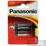 Батарейка Panasonic 2CR5 Lithium Power 6V, 2CR-5L
