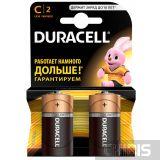 Батарейка C Duracell Basic 1.5V / Alkaline / 2/2 шт. блистер 5000394052529