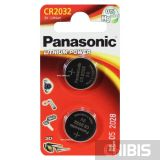 2032 батарейка Panasonic 3V Литиевая 2 шт.