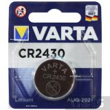 Батарейка Varta CR2430 Lithium 3V