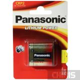 Батарейка Panasonic CR-P2 Lithium 6V блистер 1 шт
