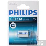 Батарейка CR123A Philips 3V Lithium