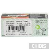 Батарейка 394 380 Energizer Silver Oxide 1 шт.  в коробке по 10 шт