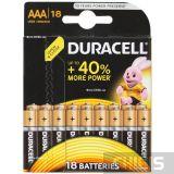 Батарейка Duracell AAA Basic 18 шт