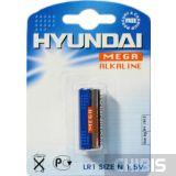 Батарейка LR1 Hyundai блистер 1 шт