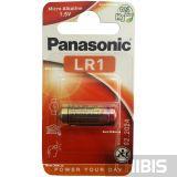 Батарейка LR1 Panasonic 1.5 V Alkaline