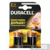 Батарейка Duracell C Basic (LR14, 1.5V, Alkaline Щелочная) 1/2 шт. блистер 5000394076761