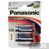 Батарейка LR14 Panasonic С Everyday Power 1.5V Alkaline 2 шт