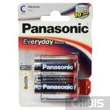 Батарейка LR14 Panasonic С Everyday Power 1.5V Alkaline 2 шт