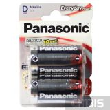 Батарейка Panasonic D Everyday Power LR20 / 1.5V / Alkaline 2 шт
