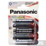 Батарейка Panasonic D Everyday Power LR20 / 1.5V / Alkaline 2 шт