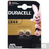 Батарейка LR44 Duracell A76 / V13GA Alkaline 1.5V 2 шт.