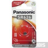 Батарейка SR 626 / 377 Panasonic 1.55V Silver Oxide