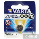 Батарейка V13GA Varta AG13 / LR44 1.5V Alkaline 04276101401