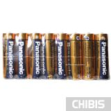 Батарейки Panasonic AA Alkaline Power 8 шт пленка обратная сторона