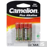 Батарейка ААА Camelion Plus Alkaline LR03 1.5V блистер 1/4 шт.
