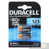 Батарейка Duracell 123A Ultra 3V блистер 2/2 шт.