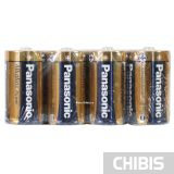 Батарейка D Panasonic Alkaline Power LR20 1.5V пленка 4/4 шт