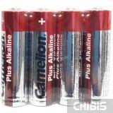 Батарейки AA LR6 Camelion Plus Alkaline 1.5V 1/4 шт. пленка