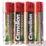 Батарейки типа AAA Camelion Plus Alkaline 1.5V щелочная 1/4 шт. пленка