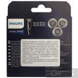 Бритвенный блок Philips SH90/70 упаковка с обратной стороны