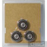 Внешний вид бритвенных головок Philips SH90/60