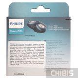 Бритвенный блок Philips SH70/70 в упаковке с обратной стороны