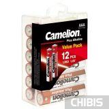 Батарейка LR03 Camelion Plus Alkaline 1.5V блистер 1/12 шт.